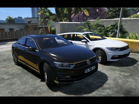 Gta V Volkswagen Passat R Line Sedan Gta Mod Youtube