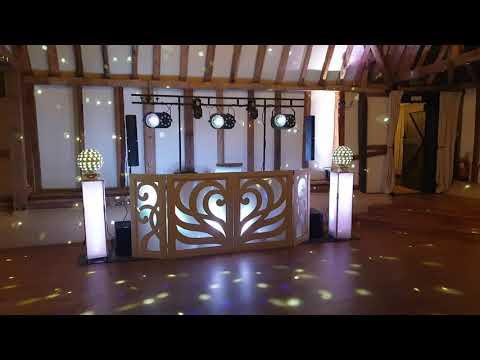 Wedding DJ's at the clock barn