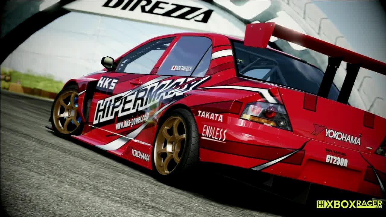 forza motorsport 4 hot laps - evolution time attack (hks lancer evo