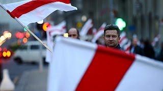 Weißrussland - Proteste in Minsk