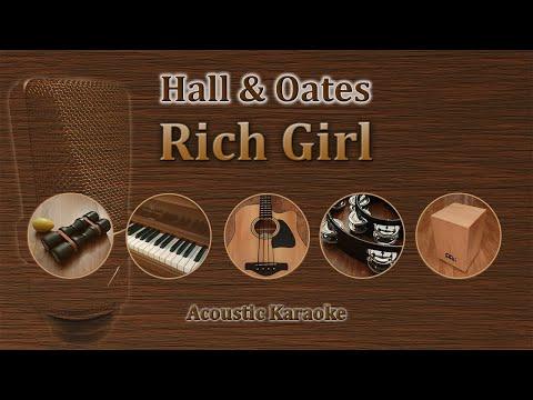Rich Girl - Hall and Oates (Acoustic Karaoke)