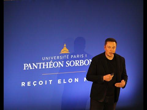 Conversation avec Elon Musk à Paris 1 Panthéon-Sorbonne