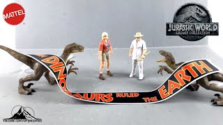 @Mattel @Jurassic World Legacy Collection ESCAPE FROM ISLA NUBLAR Set Video Review