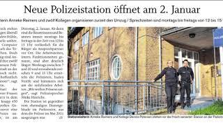 Neumünster`e yeni polis karakolu - Türkisch