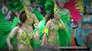 KOBECCO ブラジル色に染まるダンサーさん 神戸まつり SAMBA CARNIVAL (サンバカーニバル)