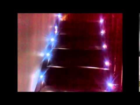 Iluminacion led para escaleras starisled funnycat tv - Iluminacion led escaleras ...
