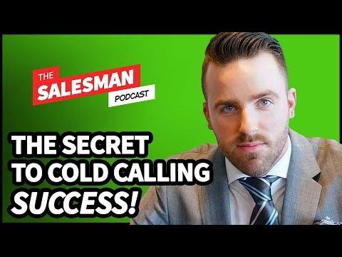 The ONE BIG SECRET To Cold Calling Success! With Jordan Stupar / Salesman Podcast