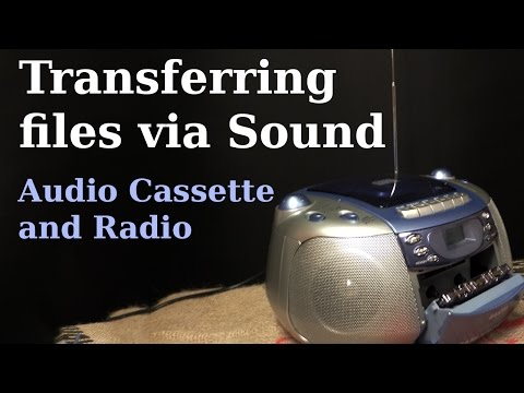 Transfer a file to PC via Radio or from the Audio Cassette | TrueTTY