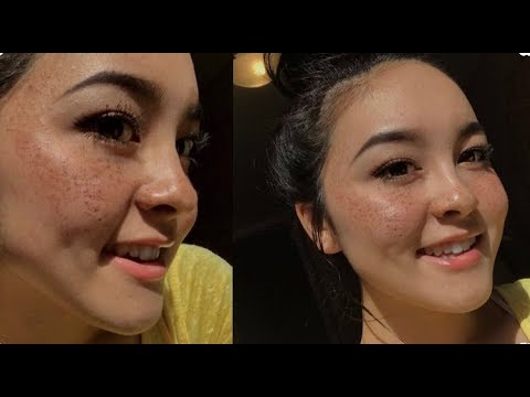 5 Ways to do Fake Freckles ! Simple and easy with makeup ! Using things you have at home !!