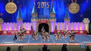 Cheer Extreme Butterflies 2015 L5 Youth Restricted Day 1