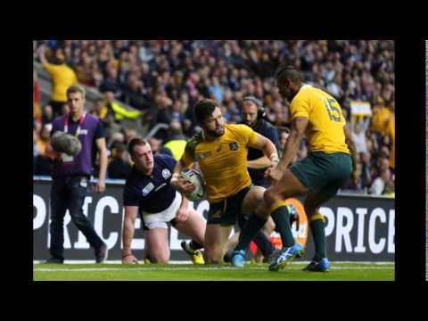Rugby World Cup 2015: Australia beat Scotland in final minute
