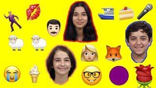 Emojilerle Şarkıcıları Tahmin Ettik! | BERAT EFE, GÜLSE VE BEYZA İLE