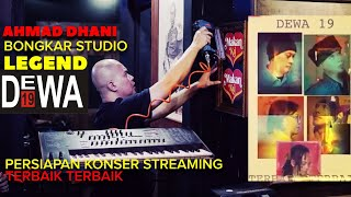 Download AHMAD DHANI BONGKAR STUDIO LEGEND ⁉️⁉️ || DEWA 19 KONSER STREAMING TERBAIK TERBAIK 2021