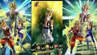Dokkan Battle LR Vegito/Gogeta Fusion + 18 ki Animation!
