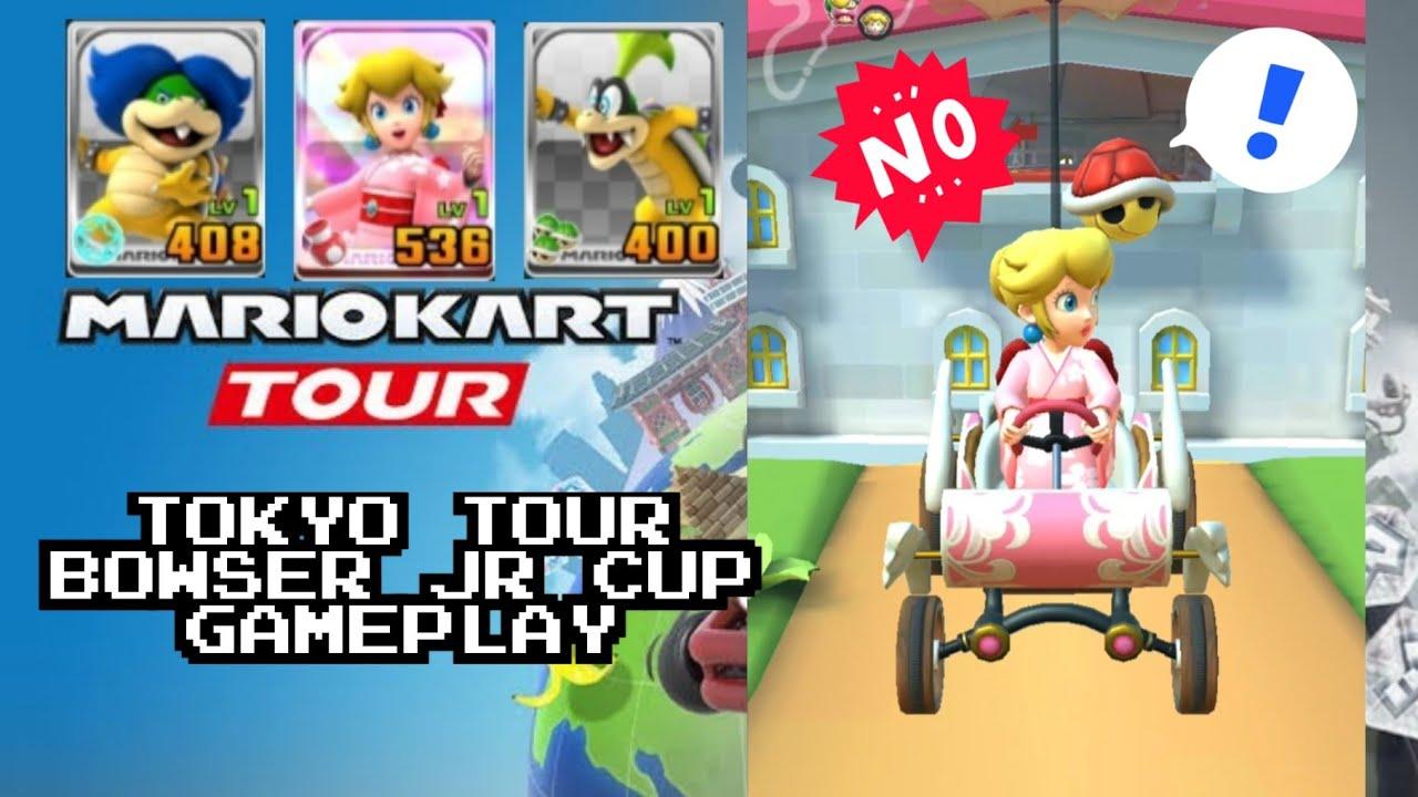 Mario Kart Tour Tokyo Tour Bowser Jr Cup Gameplay