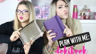 ✏PLAN WITH ME: DOKIBOOK PLANNER 2016! | ilamakeup02♡ ft QBM