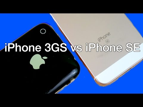iPhone 3GS vs iPhone SE?