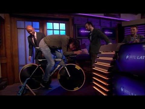 Zo zit Thomas Dekker op z'n fiets - RTL LATE NIGHT