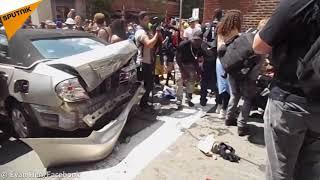 Les images chocs de l'incident à Charlottesville