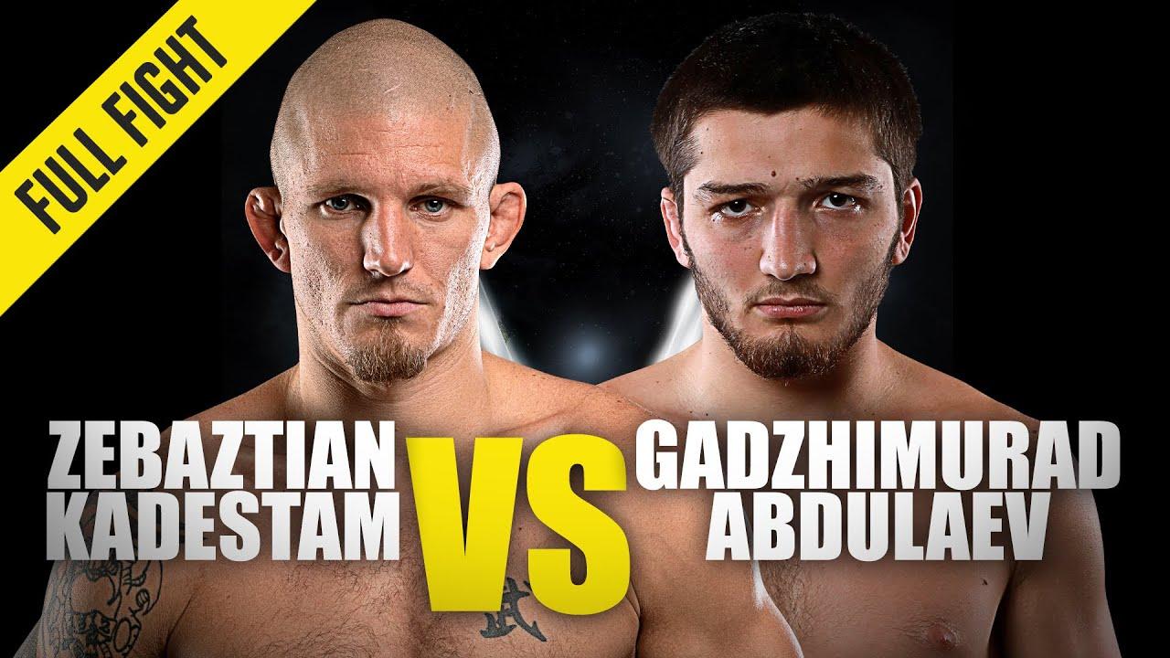 Zebaztian Kadestam vs. Gadzhimurad Abdulaev | ONE Championship Full Fight