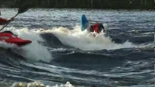 Родео (freestyle kayaking) сборы в Лиексе, Neitikoski (26.05-2.06.2012)