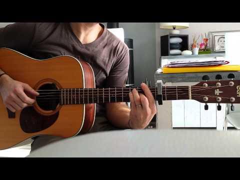 Je Vole-Louane-guitare