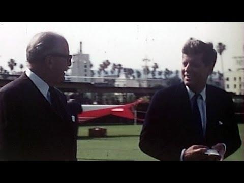 A Rare Look at John F. Kennedy
