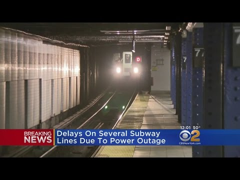 Power Outage Creates Nightmare Subway Commute