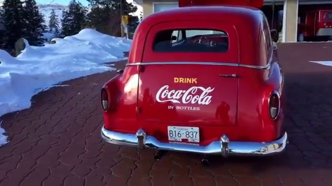 1954 Chevy Sedan Delivery Coke Car For Sale Youtube 1951 Chevrolet