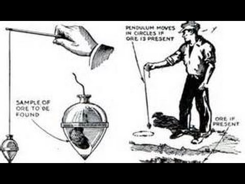 DOWSING HOW TO RUN A PENDULUM WITH A GOLD SAMPLE