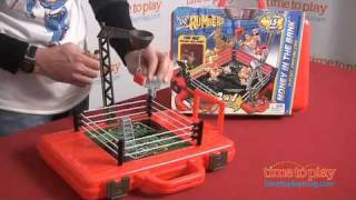 WWE Money in the Bank Playset & Carrying Case from Mattel