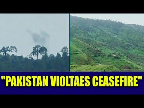 Pakistan violates ceasefire along LOC in Jammu & Kashmir   Oneindia News