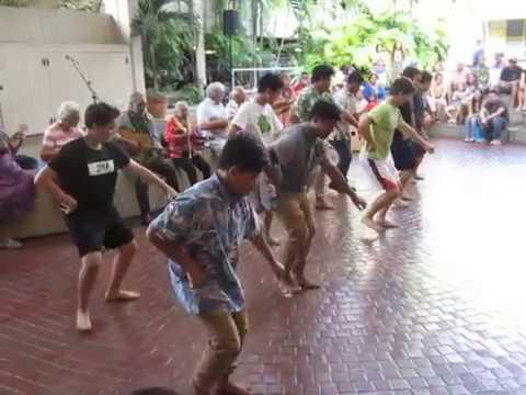Nuʻuanu YMCA Hula Kāne