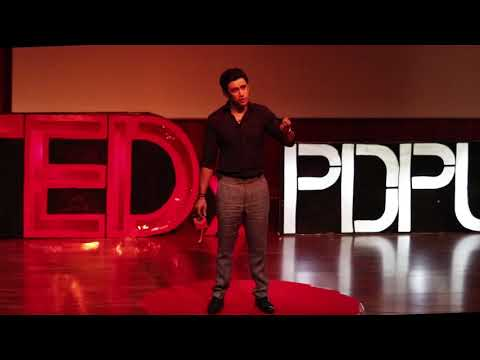 An outsider in an insider world | Amit Sadh | TEDxPDPU