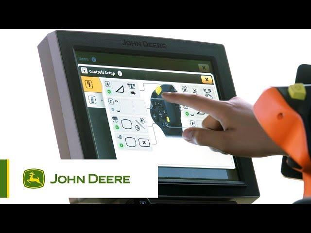 John Deere S700 - #3 Centro di comando programmabile