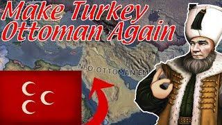 HOI4- MAKE TURKEY OTTOMAN AGAIN!! (in less than 5 minutes)