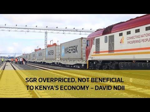 SGR overpriced, not beneficial to Kenya's economy - David Ndii