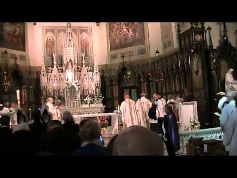 Mass - St. Patrick Basilica - Entrance Procession