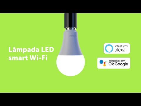 EWS 410: Lâmpada smart wi-fi