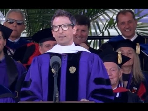 Seth Meyers delivers Northwestern Commencement address
