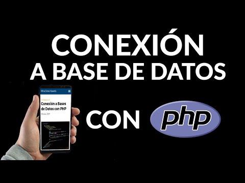 Conexión a Bases de Datos con PHP