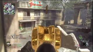 Black Ops Gold HK-21 50+ Kill Domination Gameplay
