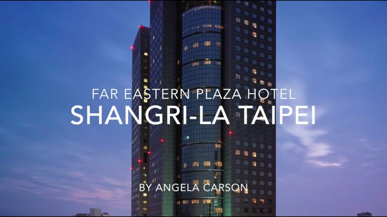 Shangri La Taipei 5 Star Luxury With Gorgeous Views Hotel Tour