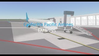 [Roblox Flight] California Pacific Airlines EMB 190