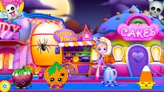 Shopkins World Halloween Party Spooky Bowling Game
