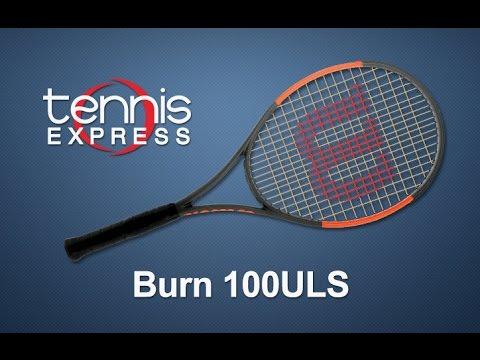 Wilson Burn 100ULS Tennis Racquet Pre-Strung