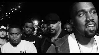 Kanye West Ft. Nas & Really Doe 'We Major' (Remix)