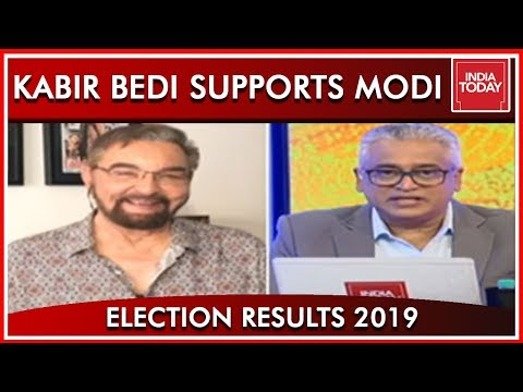 Kabir Bedi Joins India Today; Feels Modi Is The Best For The Job| Results 2019