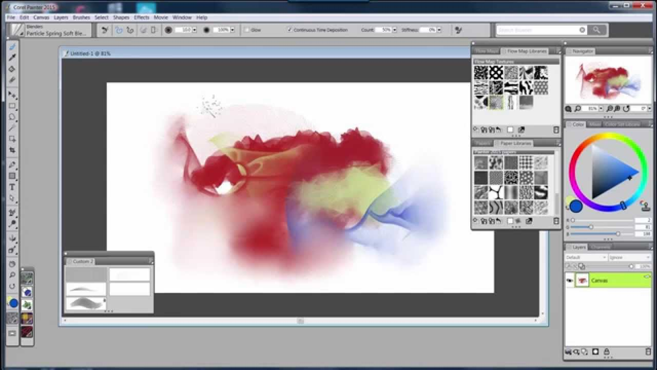 Brush Packs for Corel Painter Digital Art & Painting Software