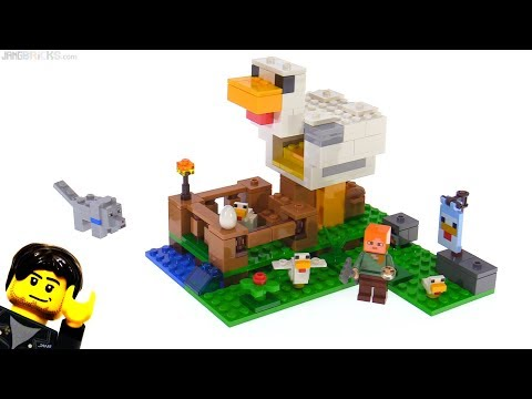 LEGO Minecraft The Chicken Coop review 🐔 21140
